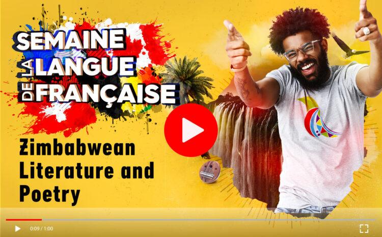 Jour 3 : Littérature et poésie zimbabwéennes